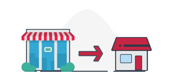Ilustración funcionamiento ecommerce b2c