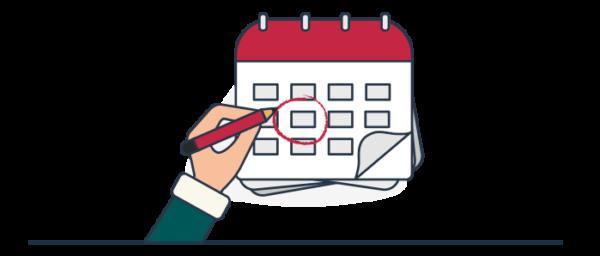 Cronograma de preparación y anticipación a impuestos en Colombia