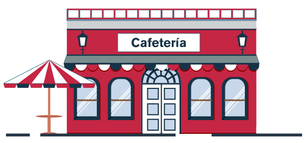 Cafeterías autorizadas reactivación económica