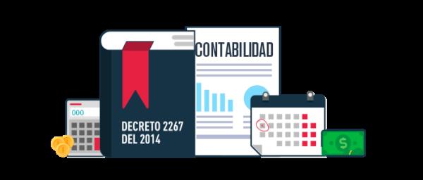 Decreto 2267 de 2014 sobre las niif para pymes