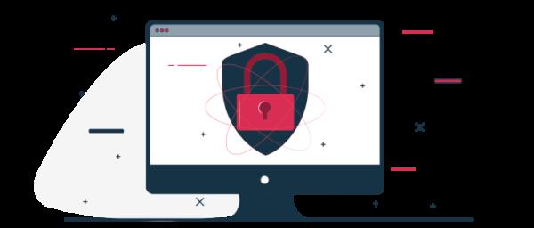 Ilustración protocolos de seguridad para ventas por internet