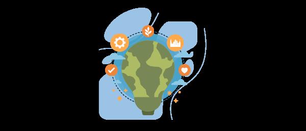 objetivos del desarrollo sostenible en el medio ambiente y las personas
