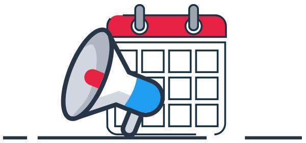 Calendario de ventas estacionales al año