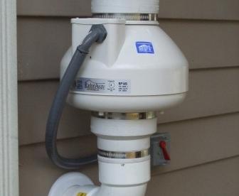 Radon Mitigation Fan