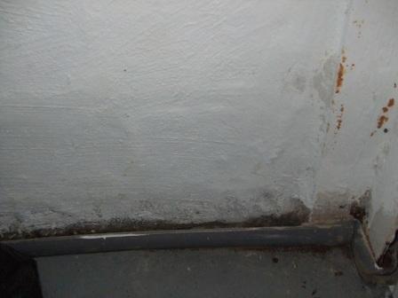 weeping wall radon