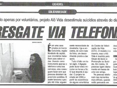 Resgate via telefone