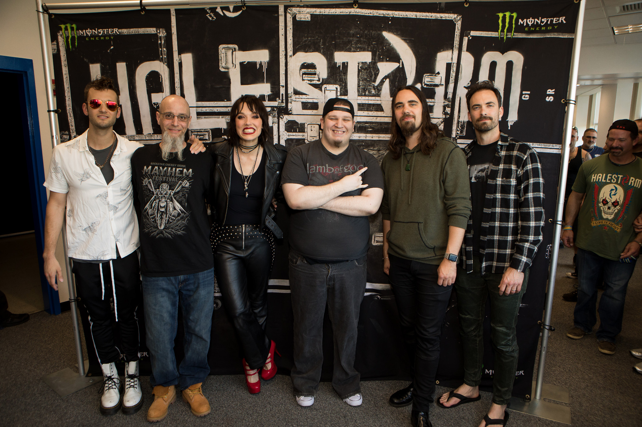 Gallery halestorm in this moment meet greets waaf m4hsunfo