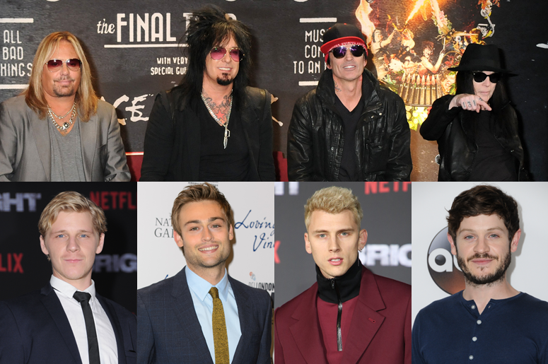 meet the cast of the upcoming motley crue movie the dirt waaf