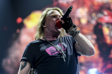 Axl Rose performing in 2016