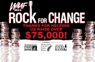 Rock For Change | WAAF 107 3 FM