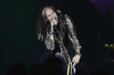 Steven Tyler at Muhammad Ali's Celebrity Fight Night XXIV
