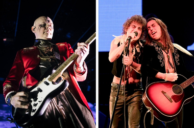 Billy Corgan and Greta Van Fleet