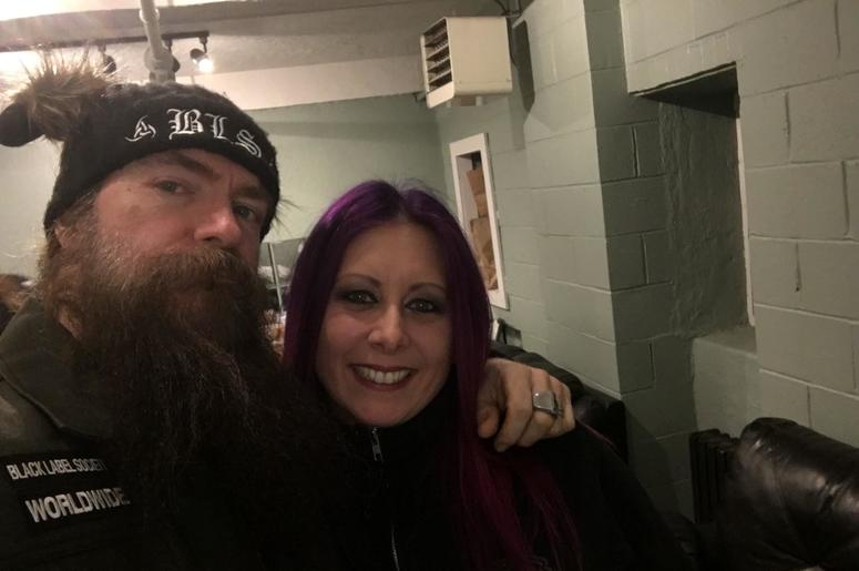 Mistress Carrie and Zakk Wylde | WAAF