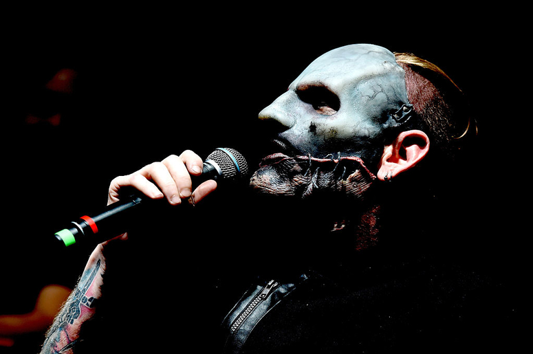Singer Corey Taylor of Slipknot