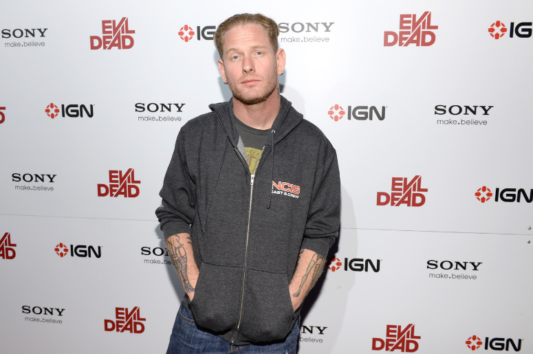 Musician Corey Taylor attends Sony Pictures Home Entertainment and Evil Dead Blu-ray Fan Party