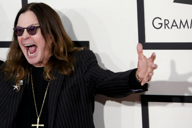 Ozzy Osbourne of Black Sabbath