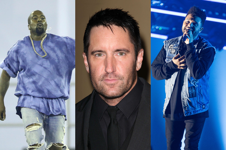 Trent Reznor Accuses Kanye West & The Weeknd Of Ripping Off Nine ...