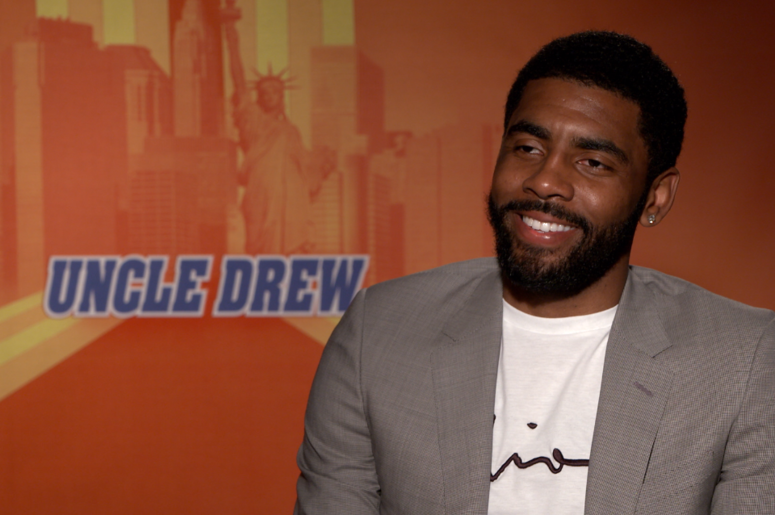 Mike Hsu Interviewed Boston Celtic Kyrie Irving For His Starring Role In Uncle Drew