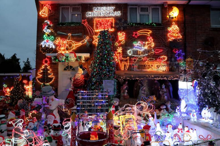 8 rock n roll christmas light displays you dont want as your neighbors