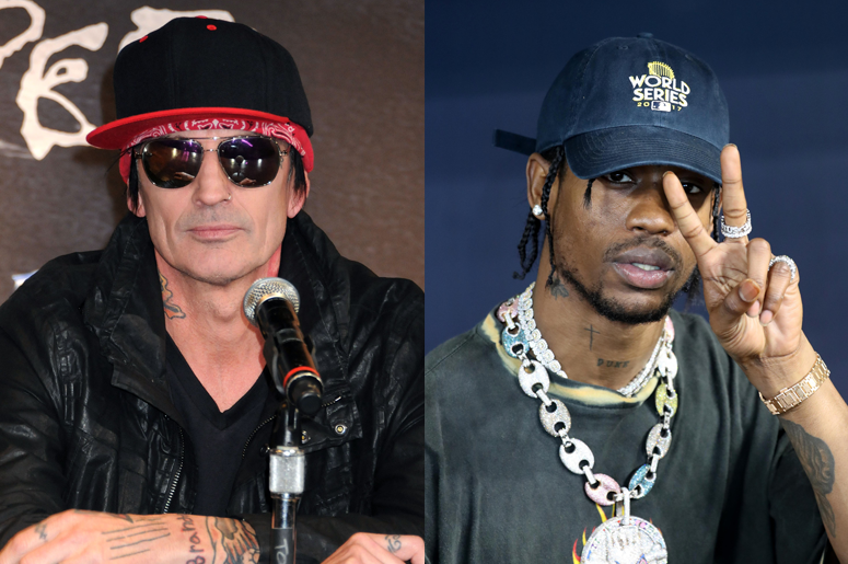 f00fdf620398 Tommy Lee Accuses Travis Scott Of Stealing His Live Roller Coaster Stunts