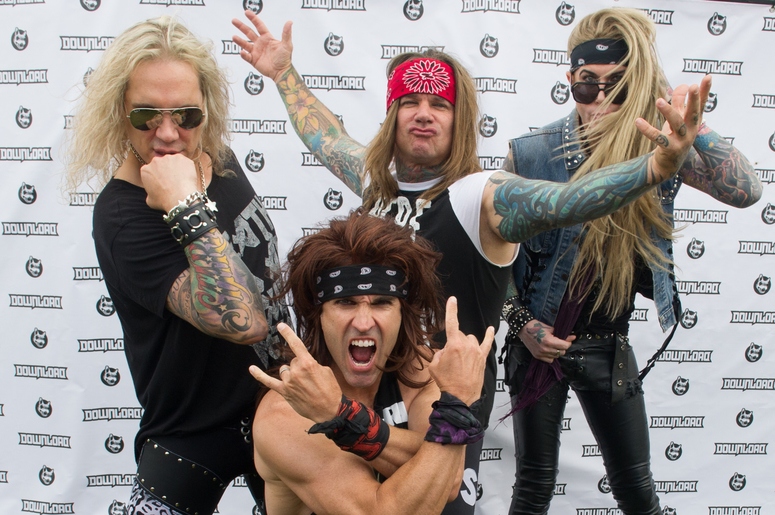 Social Justice Warriors Attack Steel Panther For Sexist Guitar Effect