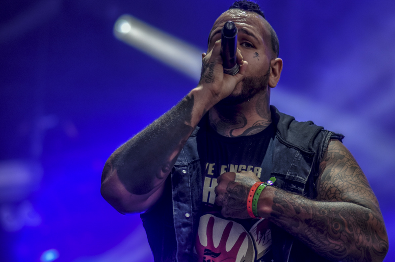 Tommy Vext of Bad Wolves