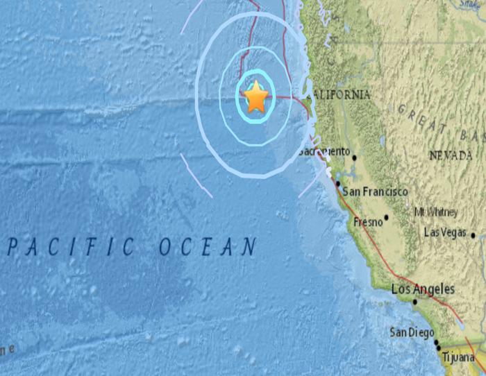 Sismo de magnitud 5.7 se siente en California