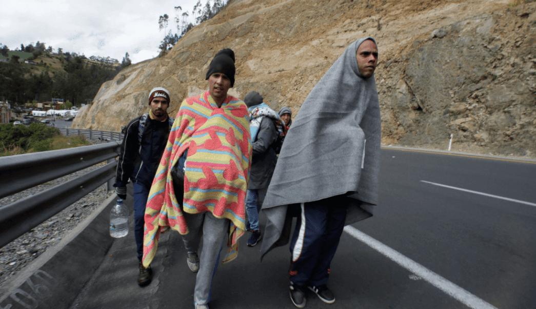 El paso de los Andes