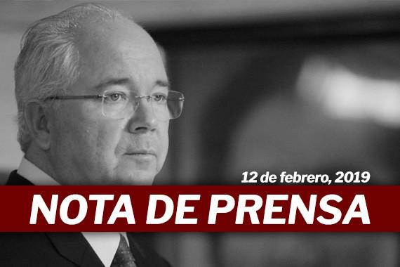 """Nota de Prensa: El riesgo de violencia y anarquía en el país está """"más cerca que nunca"""""""