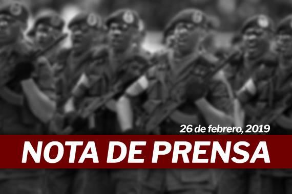 Nota de Prensa - Rafael Ramírez