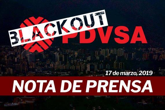 Ramírez: Pretenden usar el blackout del país para privatizar PDVSA y entregar el petróleo