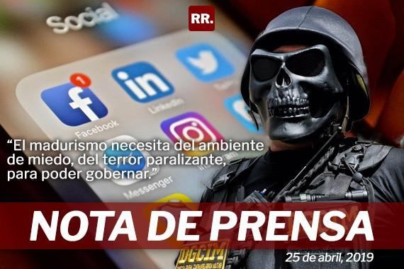 Rafael Ramírez: denuncia que madurismo usa modelo represivo en las redes para perseguir a sus oponentes