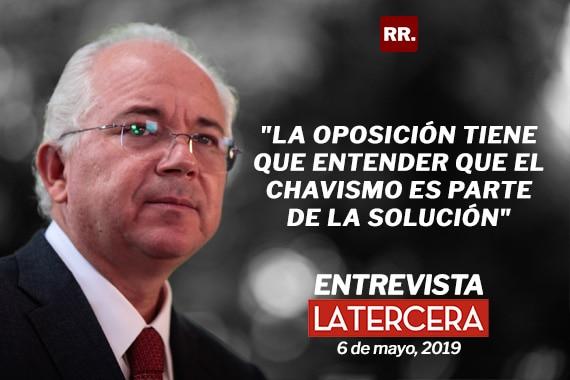 Rafael Ramírez, expresidente de PDVSA: «La oposición tiene que entender que el chavismo es parte de la solución»