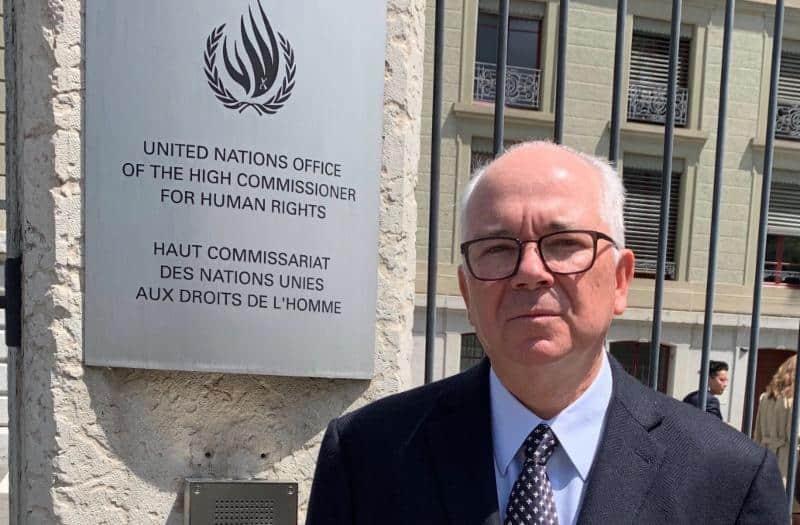 Rafael Ramirez en la ONU
