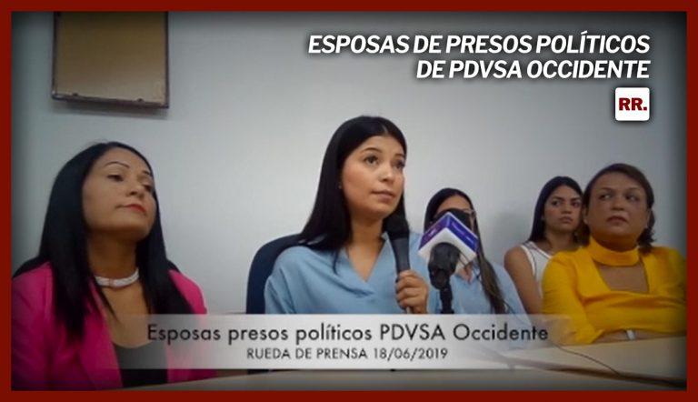 Esposas-de-presos-políticos-de-PDVSA-Occidente