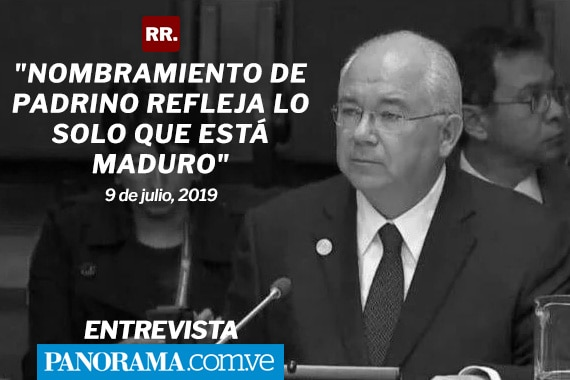 """Rafael Ramírez: """"Nombramiento de Padrino refleja lo solo que está Maduro"""", Panorama"""