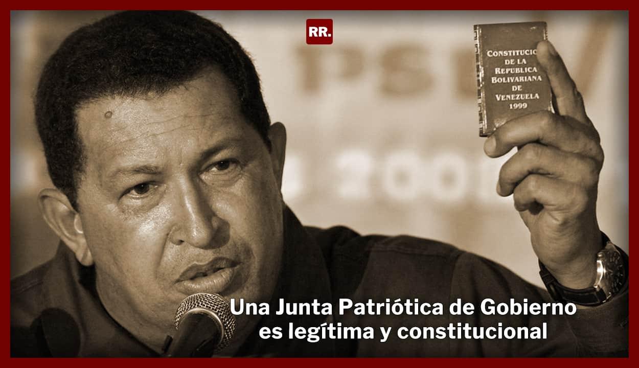 Una Junta Patriótica de Gobierno es legítima y constitucional