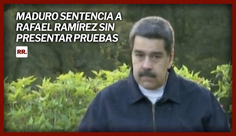 Maduro-sentencia-a-Rafael-Ramírez-sin-presentar-pruebas