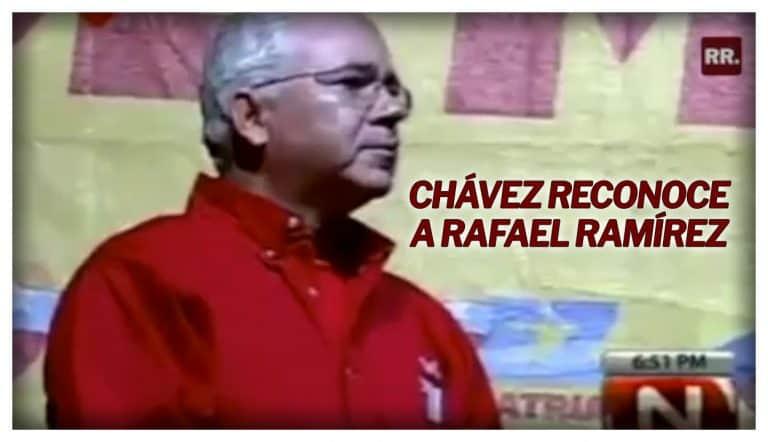 Chávez-reconoce-a-Rafael-Ramírez