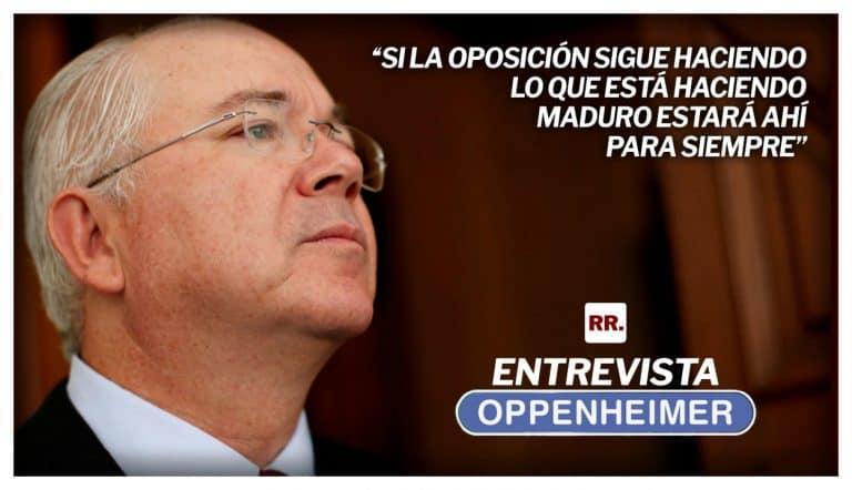 Si la oposición sigue haciendo lo que está haciendo Maduro estará ahí para siempre