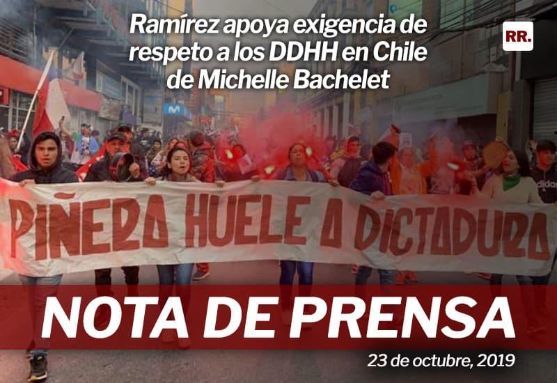 Rafael Ramírez: Una constituyente para reconciliar a Chile sería la solución