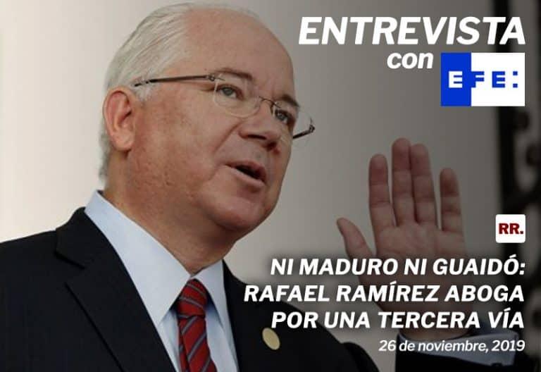 Ni-Maduro-ni-Guaidó-Rafael-Ramírez-aboga-por-una-tercera-vía