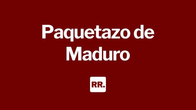 Paquetazo de Maduro