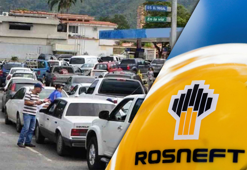 """Se profundiza la crisis: ¿Por qué no hay gasolina en Venezuela? Y la salida de """"Rosneft"""""""