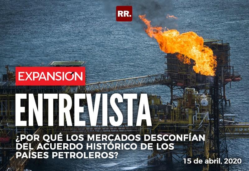¿Por qué los mercados desconfían del acuerdo histórico de los países petroleros?