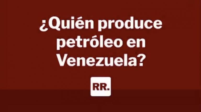 quien produce petróleo en venezuela