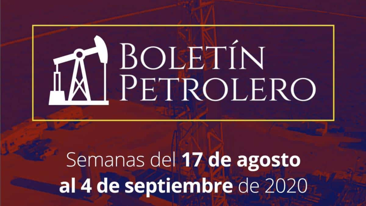 Video Boletín Petrolero 17 al 04 de septiembre – Comisión Presidencial