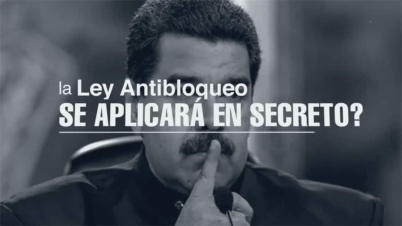 ¿Sabías que la Ley Antibloqueo se aplicará en secreto?