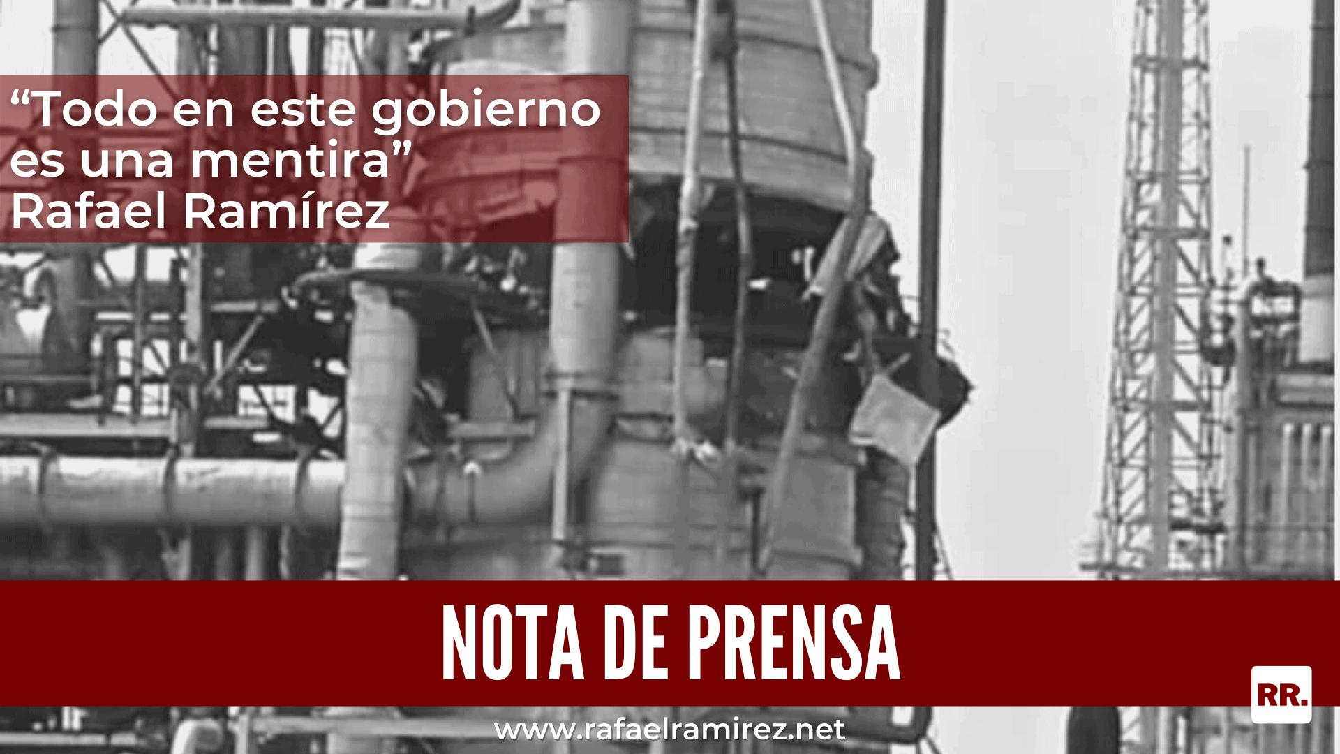 """""""Todo en este gobierno es una mentira"""": Rafael Ramírez"""