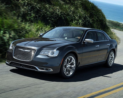 Black Chrysler 300C for sale or lease at Eide CDJR Pine City in Pine City MN.